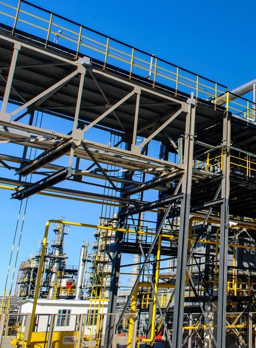 Referenz Cargill Rohrleitungsmontage