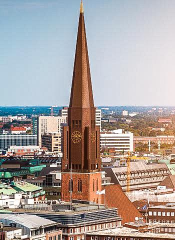 Blitzschutzpruefung Hamburg Dom Industriekltterer IBE Industrieservice