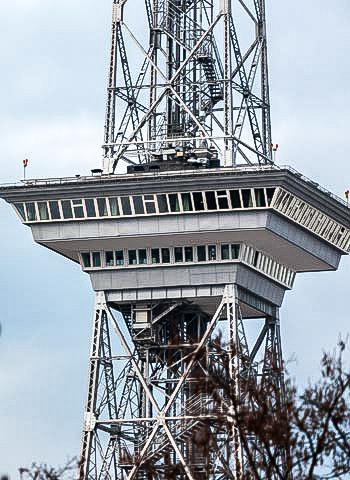 Instandsetzung Funkturm Berlin durch Industriekletterer