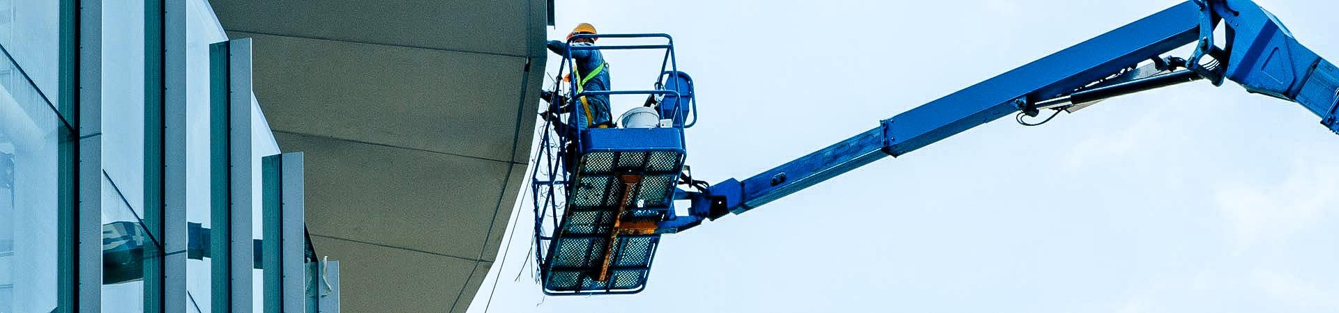 Begutachtung von Fassaden durch die IBE Industrieservice GmbH