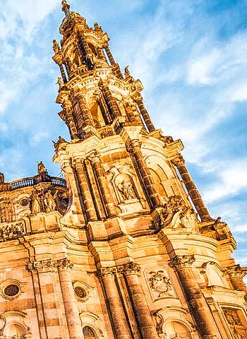 Dresden - Begutachtung durch Industriekletterer