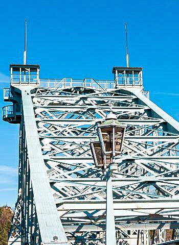 Dresden - Schichtdickenmessung an einer Brücke