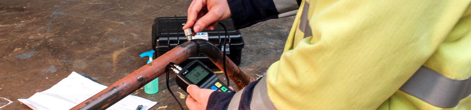 Ultraschallverfahren - IBE Industrieservice