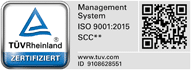 ISO 9001:2015 SCC**:2011