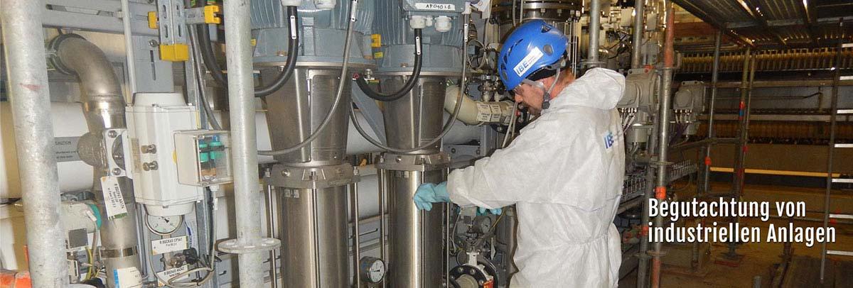 Reinigung und Oberflächenkonservierung durch die IBE Industrieservice GmbH