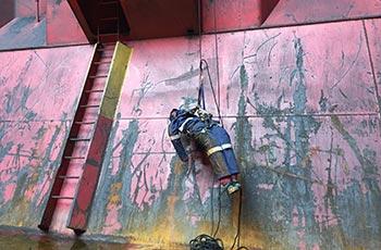 Kraftwerks-Höhenrettung