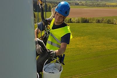 Korrosionsschutz an Windkraftanlagen